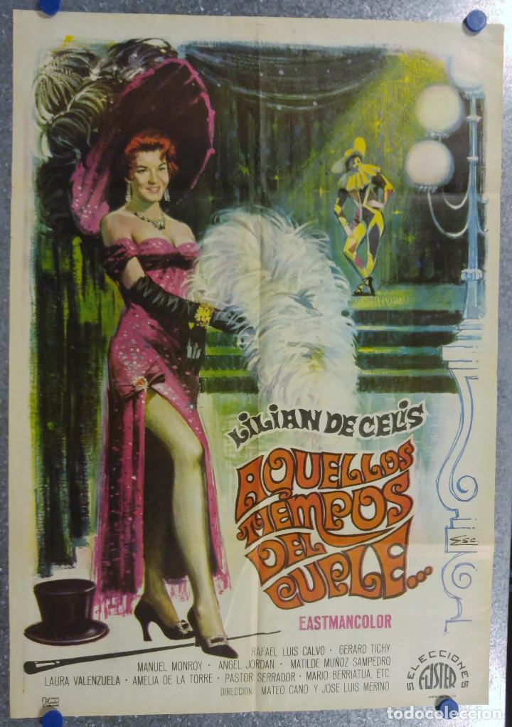 AQUELLOS TIEMPOS DEL CUPLE. LILIAN DE CELIS . AÑO 1969 (Cine - Posters y Carteles - Clasico Español)