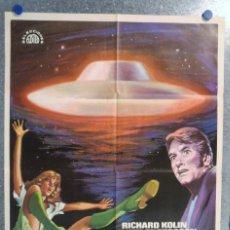 Cine: EL HOMBRE PERSEGUIDO POR UN OVNI. RICHARD KOLIN, JUAN CARLOS OLARIA. AÑO 1976. Lote 140164118