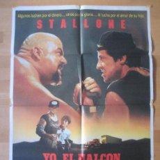 Cine: CARTEL CINE, YO, EL HALCON, SYLVESTER STALLONE, 1987, C650. Lote 140193241