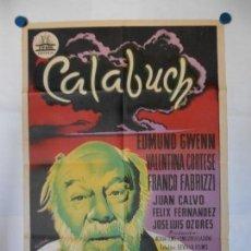Cine: CALABUIG - BERLANGA - CIFESA - CARTEL ORIGINAL LITOGRAFICO - 70 X 100. Lote 140211118
