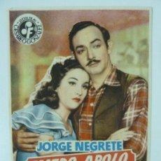 Cine: TEATRO APOLO. JORGE NEGRETE. SENCILLO S/P. Lote 140241694