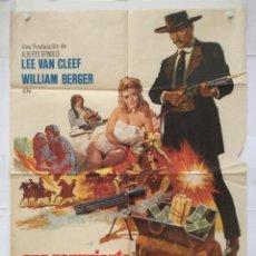 Cine: ORO SANGRIENTO - CARTEL POSTER ORIGINAL - SABATA LEE VAN CLEEF WILLIAM BERGER SPAGHETTI WESTERN. Lote 140297450