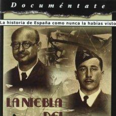 Cine: LA NIEBLA DEL SILENCIO,HISTORIA DE ESPAÑA RUTAS AÉREAS [DVD]. Lote 140436106