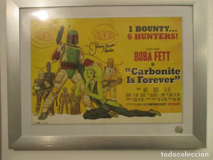 STAR WARS - GUERRA DE LAS GALAXIAS - BOBA FETT CARBONITE IS FOR EVER (Cine - Posters y Carteles - Ciencia Ficción)