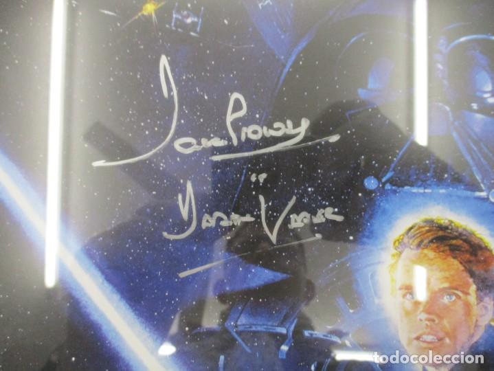 Cine: STAR WARS - EL RETORNO DEL JEDI - FIRMADO POR DAVE PROWSE / DARTH VADER CON CERTIFICADO - Foto 3 - 140615286