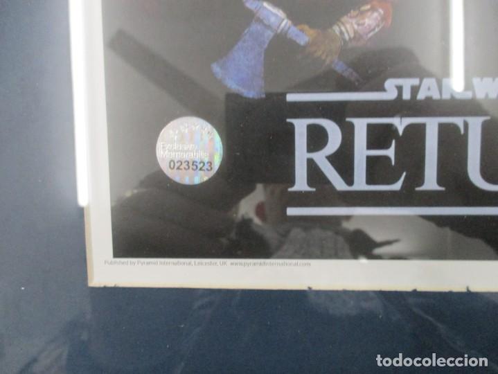 Cine: STAR WARS - EL RETORNO DEL JEDI - FIRMADO POR DAVE PROWSE / DARTH VADER CON CERTIFICADO - Foto 4 - 140615286