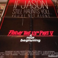 Cine: POSTER FRIDAY THE 13 TH PART V. Lote 140650942