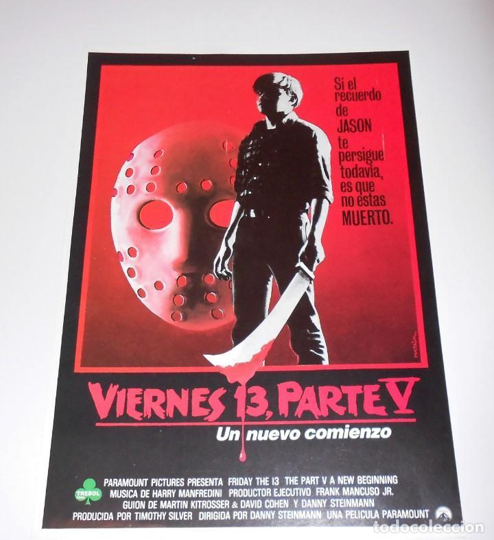 PÓSTER CARTEL VIERNES 13 V (Cine - Posters y Carteles - Terror)
