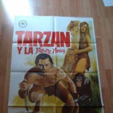 Cine: B-POSTER DE LA PELICULA --TARZAN Y LA FUENTE MAGICA. Lote 140745422