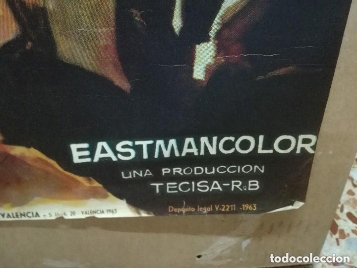 Cine: LOS TARANTOS 1963 ORIGINAL CARMEN AMAYA ; ROVIRA BELETA 100X70 ESTRENO DISEÑO JANO - Foto 2 - 173962990