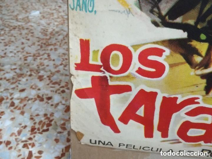 Cine: LOS TARANTOS 1963 ORIGINAL CARMEN AMAYA ; ROVIRA BELETA 100X70 ESTRENO DISEÑO JANO - Foto 3 - 173962990