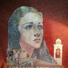 Cine: DISPLAY TROQUELADO EN MADERA Y PINTADO A MANO ESTRENO EN 1942 PELICULA MALVALOCA EN ZARAGOZA -REF-D. Lote 140915014