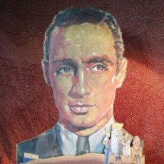 Cine: DISPLAY TROQUELADO EN MADERA Y PINTADO A MANO ESTRENO EN 1942 PELICULA MALVALOCA EN ZARAGOZA -REF-D. Lote 140915850