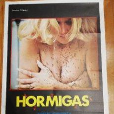 Cine: CARTEL DE CINE HORMIGAS. ROBERT SHEREER. EXCLUSIVAS AREVALO. 1979. Lote 140930434