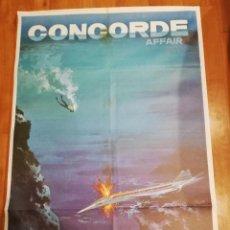 Cinema: CARTEL DE CINE CONCORDE AFFAIR. 1979.. Lote 140932306