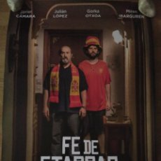 Cine: FE DE ETARRAS - APROX 70X100 CARTEL ORIGINAL CINE (L61). Lote 191220240