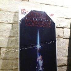 Cine: STAR WARS - POSTER - VIDRIO TEMPLADO - REY - THE LAST JEDI - CRISTAL - PRECINTADO - NUEVO. Lote 141483234