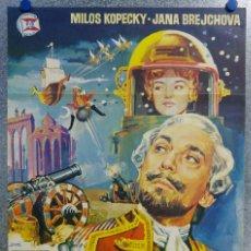Cine: EL BARON FANTASTICO. MILOS KOPECKY, JANA BREJCHOVA - AÑO 1965. Lote 155085088