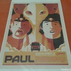 Cine: FOTO - CARTEL DE LA PELÍCULA, PAUL , SUNDAY MARCH 13. 45 CM X 32 CM. Lote 142036752