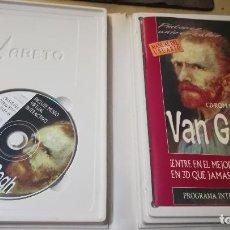 Cine: CD-ROM MULTIMEDIA INTERACTIVO - PINTORES UNIVERSALES - VAN GOGH - VISION MUSEO , OBRAS EN 3D. Lote 142110942