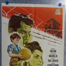 Cine: EL NIÑO Y EL MURO. DANIEL GELIN, YOLANDA VARELA, NINO DEL ARCO. FUTBOL. AÑO 1965. Lote 142330866