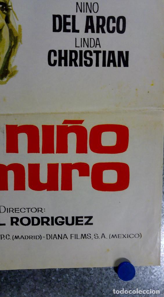 Cine: EL NIÑO Y EL MURO. DANIEL GELIN, YOLANDA VARELA, NINO DEL ARCO. FUTBOL. AÑO 1965 - Foto 3 - 142330866
