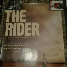 Cine: POSTER ORIGINAL THE RIDER 100X70. Lote 142475282
