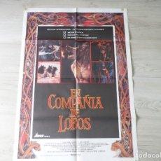 Cine: CARTEL EN COMPAÑÍA DE LOBOS (NEIL JORDAN) - POSTER ORIGINAL 70 X 100 CM APROX. Lote 142511306
