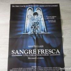 Cine: CARTEL SANGRE FRESCA (JOHN LANDIS) - POSTER ORIGINAL 70 X 100 CM APROX. Lote 142512034