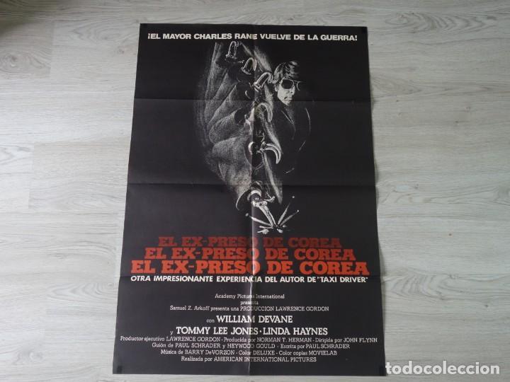 CARTEL EL EXPRESO DE COREA - POSTER ORIGINAL 70X100 CM APROX (Cine - Posters y Carteles - Acción)