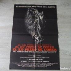 Cine: CARTEL EL EXPRESO DE COREA - POSTER ORIGINAL 70X100 CM APROX. Lote 142514978
