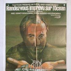 Cinema - encuentro en el atlantico - poster cartel original francia Jerzy Kawalerowicz Spotkanie na Atlantyku - 142588310