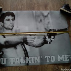 Cine: POSTER YOU TALKIN TO ME? 85X59 APROXIMADAMENTE. Lote 142780552