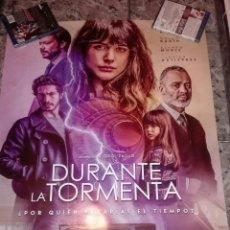 Cine: POSTER ORIGINAL DURANTE LA TORMENTA 100X70. Lote 143103954