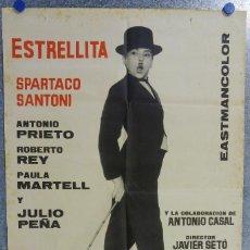 Cine: HAN ROBADO UNA ESTRELLA. ESTRELLITA, SPARTACO SANTONI, ANTONIO CASAL. AÑO 1962. Lote 143167806