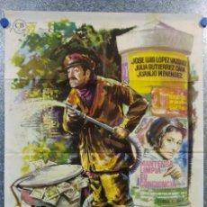 Cine: UN MILLON EN LA BASURA LOPEZ VAZQUEZ JULIA GUTIERREZ CABA. AÑO 1967. Lote 143168838