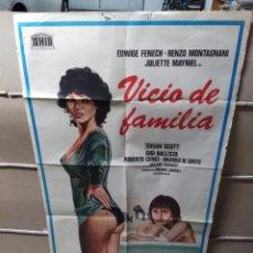 Cine: VICIO DE FAMILIA EDWIGE FENECH POSTER ORIGINAL 70X100 YY (1966). Lote 143180606