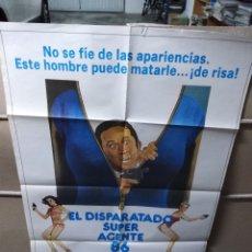 Cine: EL DISPARATADO SUPER AGENTE 86 POSTER ORIGINAL 70X100 YY (1967). Lote 143180886