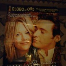 Cine: POSTER CINE : KATE & LEOPOLD ( MEG RYAN, HUGH JACKMAN ). Lote 143194858