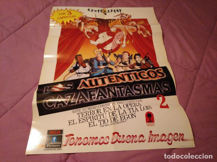 POSTER LOS AUTÉNTICOS CAZAFANTASMAS 2 PÓSTER DE LA PELÍCULA DE DIBUJOS ANIMADOS CON VARIOS CAPÍTULO (Cine - Posters y Carteles - Infantil)