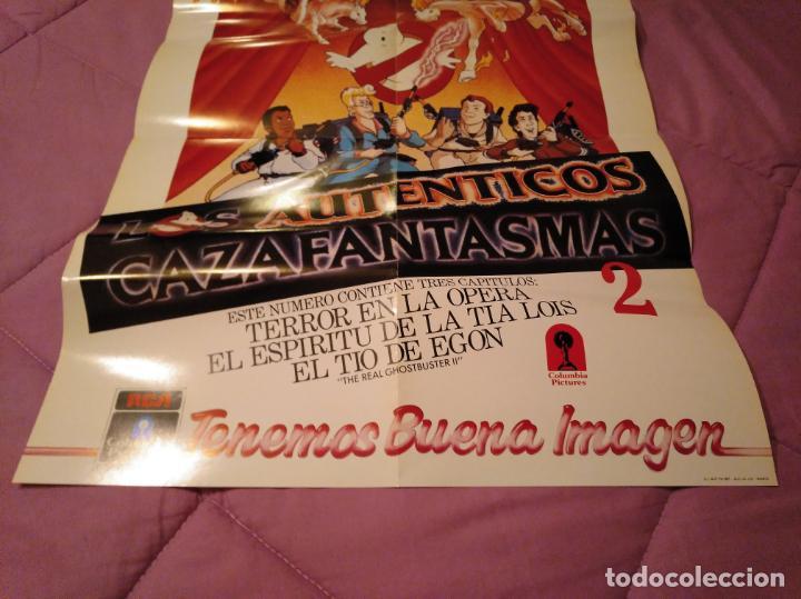 Cine: Poster los auténticos Cazafantasmas 2 póster de la película de dibujos animados con varios capítulo - Foto 2 - 143215366