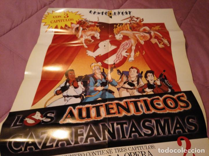 Cine: Poster los auténticos Cazafantasmas 2 póster de la película de dibujos animados con varios capítulo - Foto 3 - 143215366