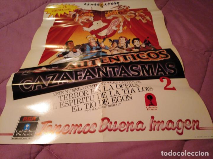 Cine: Poster los auténticos Cazafantasmas 2 póster de la película de dibujos animados con varios capítulo - Foto 8 - 143215366
