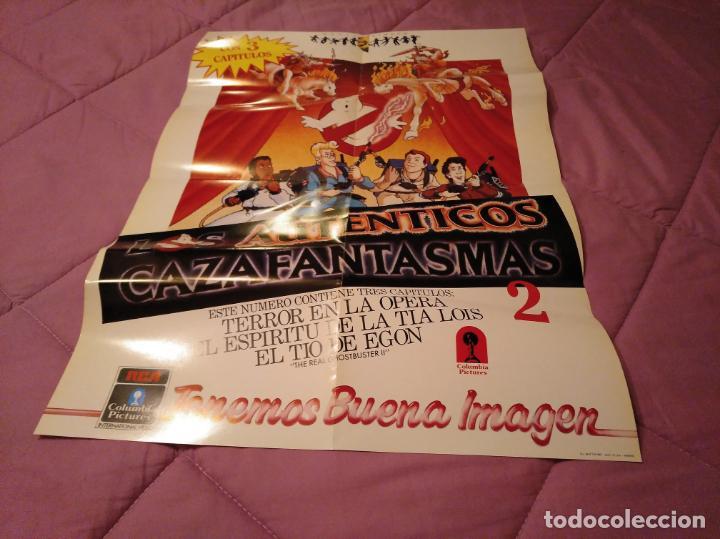 Cine: Poster los auténticos Cazafantasmas 2 póster de la película de dibujos animados con varios capítulo - Foto 9 - 143215366