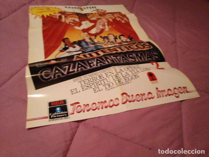 Cine: Poster los auténticos Cazafantasmas 2 póster de la película de dibujos animados con varios capítulo - Foto 11 - 143215366