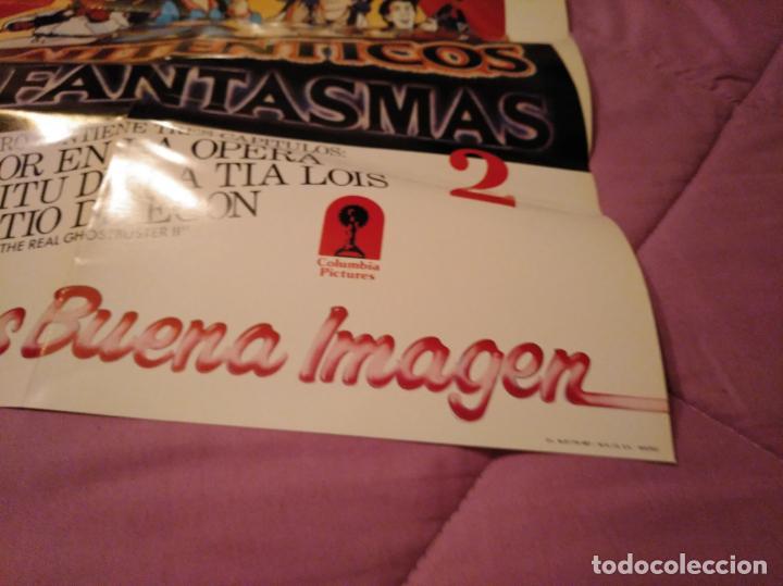 Cine: Poster los auténticos Cazafantasmas 2 póster de la película de dibujos animados con varios capítulo - Foto 12 - 143215366