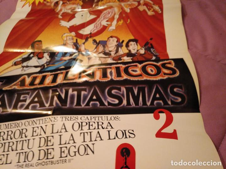 Cine: Poster los auténticos Cazafantasmas 2 póster de la película de dibujos animados con varios capítulo - Foto 13 - 143215366