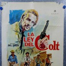 Cine: LA LEY DEL COLT - LUCY GILLY, MICHEL RIVERS, GRANT LARAMY. AÑO 1965. Lote 143306134