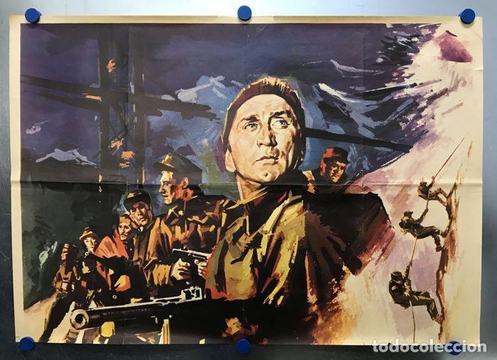 Cine: LOS HEROES DEL TELEMARK - KIRK DOUGLAS, RICHARD HARRIS - CARTEL GRANDE, AÑO 1966 - Foto 2 - 143374790