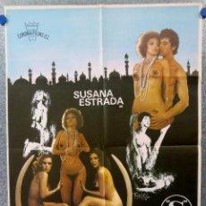 Cine: COLECCION DE 15 POSTERS CLASIFICADA S, EROTICO - AÑOS 70, 80. VER FOTOS ADICIONALES. Lote 143400630